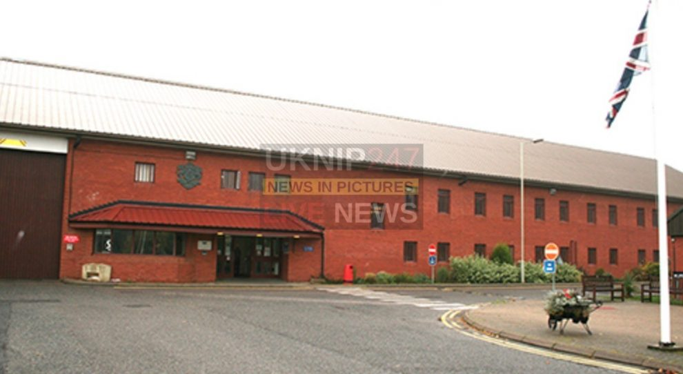 tornado teams sent into hmp the mount as prisoners go on the rampage