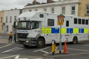 weston super mare on lockdown after chemical related arrest