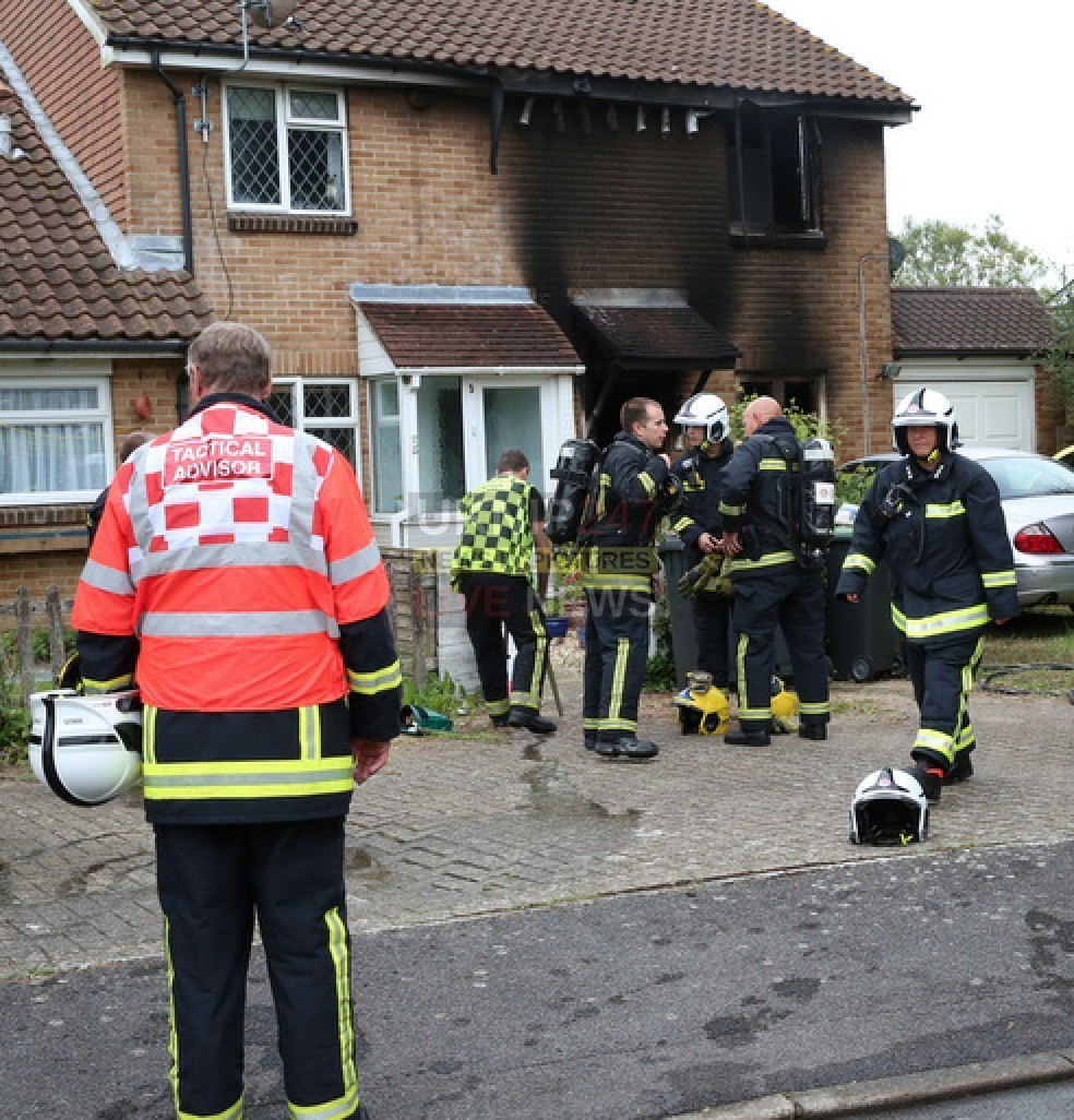 faulty toaster leaves family homesless and the house gutted in lee on solent