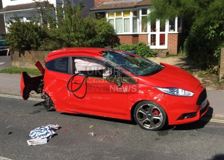 police appeal after drivers injured in fareham collision