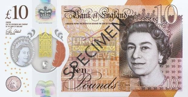 New Plastic Tenner Launches Today