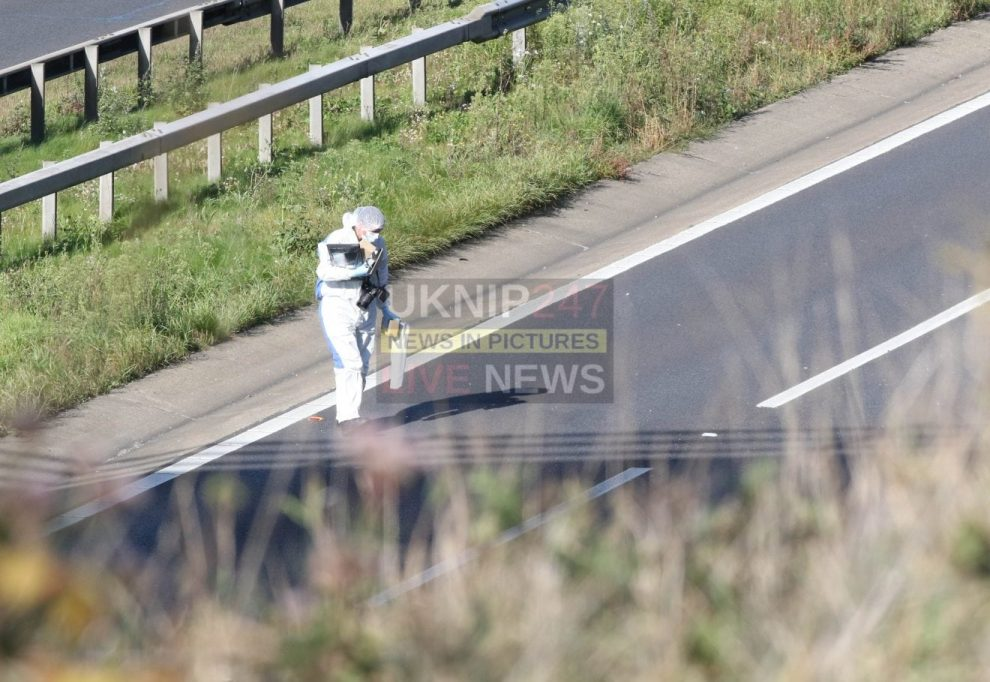 terror police descend on the m3 motorway after dirty bomb is found