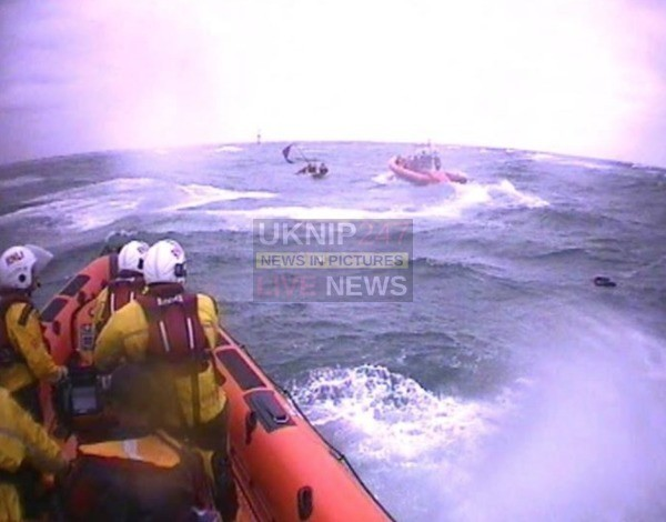 Three Rescued Off West Pole After Yacht Sinks Off Hayling Island
