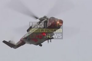 walker in his fifties rescued and airlifted after fall down a cornish mineshaft