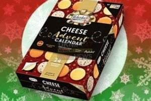 asda to launch cheese advent calendar