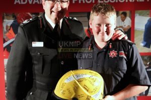 autistic boy from portsmouth to complete fire fighters charity cycle