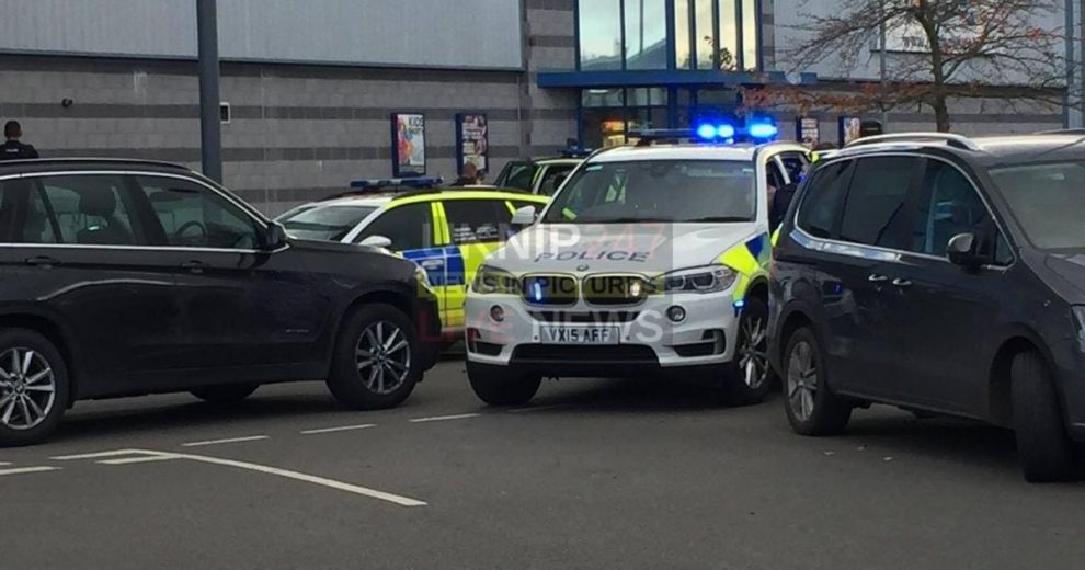 bowling alley in nuneaton on lock down after man with shotgun takes hostages