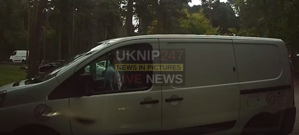 conman selling fake television in surrey and hampshire lay bys