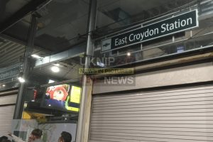 east croydon station on lock down after suspect package has been found