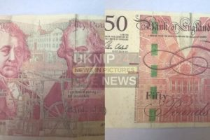 fake fifty pound notes in circulation on the isle of wight