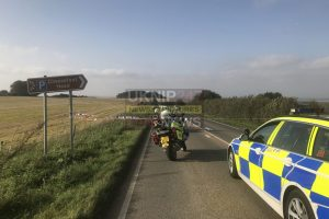 fatal three vehicle collision closes a272 near winchester