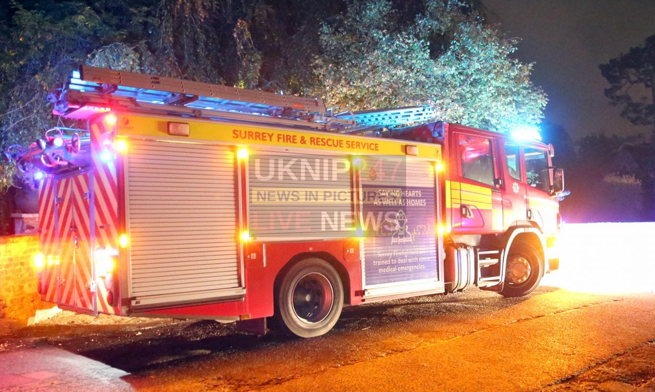 Firefighters Tackled Chimney Fire At A Property In Wonersh This Evening