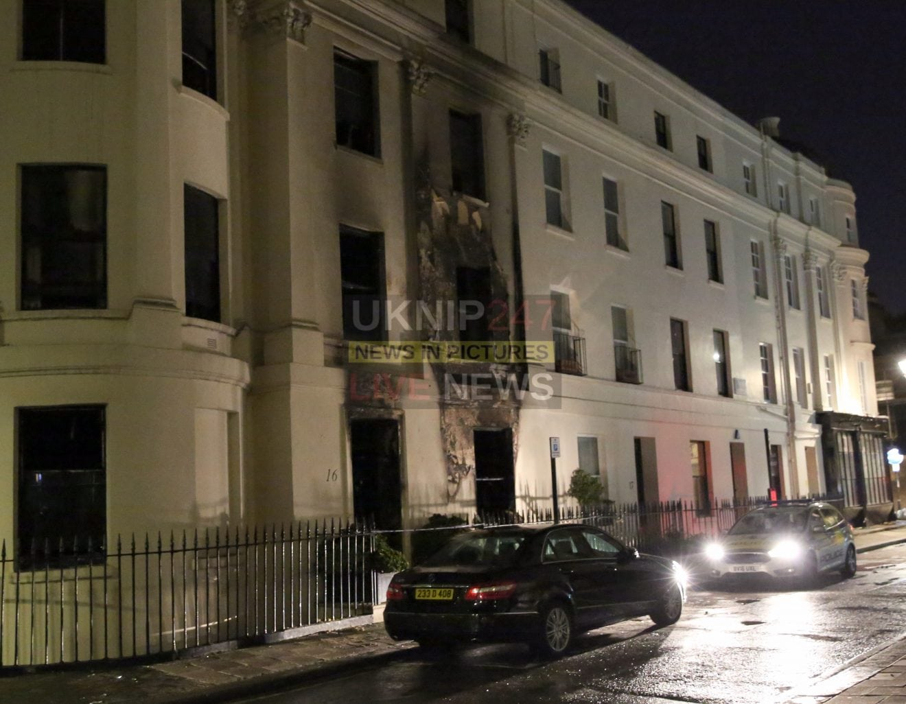Four Million Pound Property On Posh London Grosvenor  Private Estate  Left Gutted By Fire As Probe Is Launched