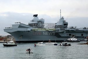 queen elizabeth aircraft carrier could be effected by tug boat strike action