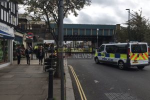turnham green tube station evacuated after suspect item find at stamford brook