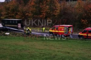 two horses successfully rescued following collision on the a303