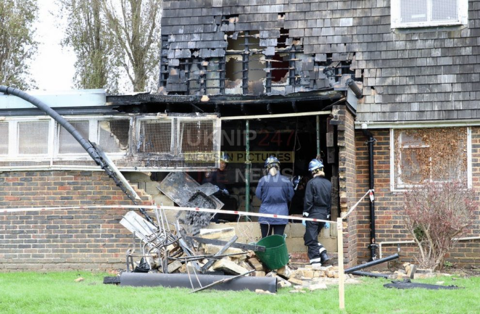 two teenagers arrested after arson probe launched at king george v playing fields cosham
