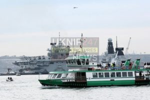 will she or wont she hms elizabeth set to leave on monday after ship is dogged with serious technical problems aboard