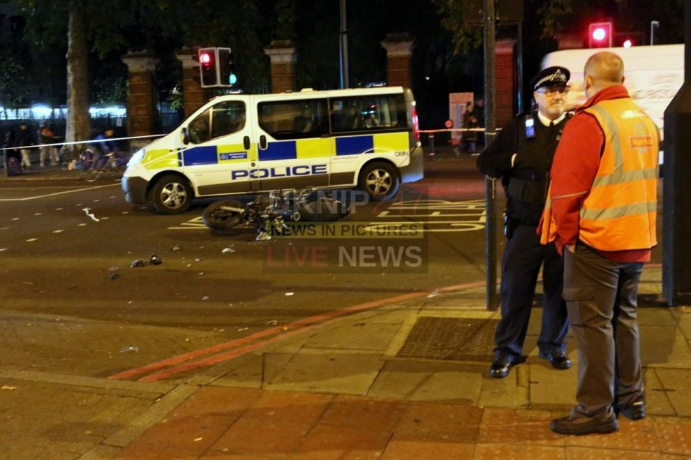biker in collision with royal mail van in finsbury park left in critical condition