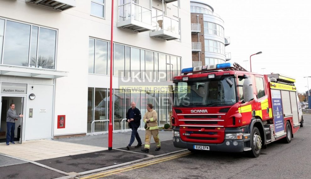 fire crews called for a fourth time as raw sewage floods basement of a guildford new build
