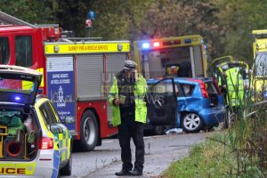 man dies in fatal three vehicle woking collision