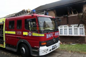 man jumps from blazing house in mitcham
