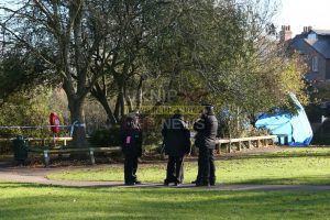 meadowbank recreation ground dorking sealed off as police launch probe after body recovered from river by fire crews
