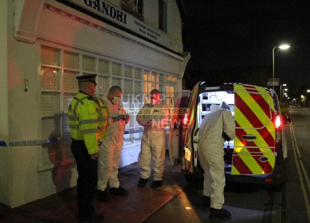 police appeal for diners to contact them after man is murdered on hayling island