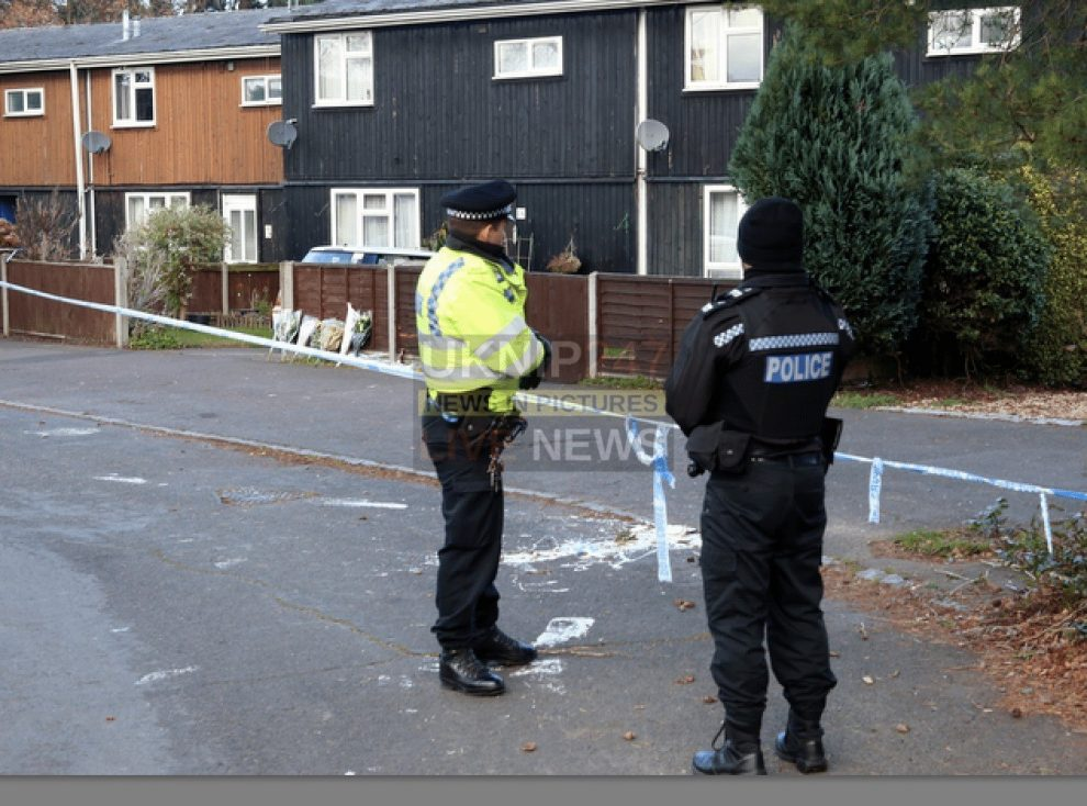 police charge man with murder after finchampstead fatal stabbing
