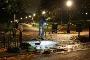 primrose hill park on lockdown following stabbing of sixteen year old boy
