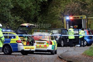 serious three vehicle road traffic collision closes brookwood lye road in woking