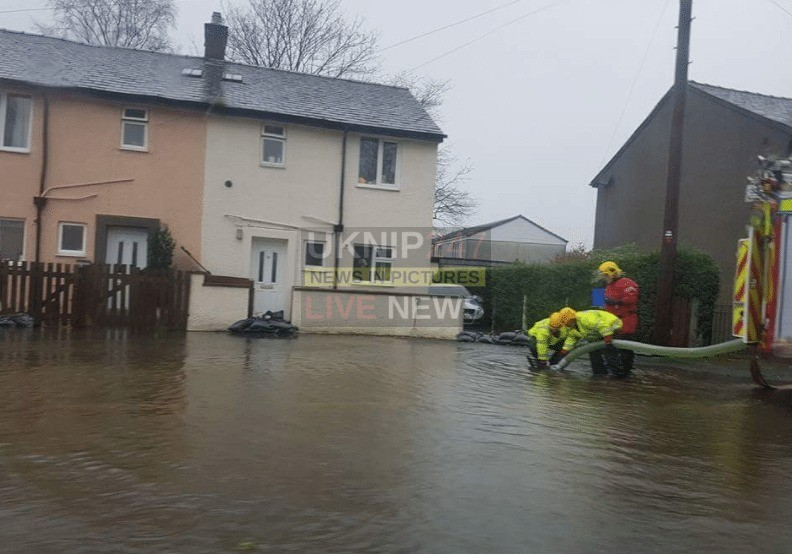seventy people rescued and 27 residents evacuated from lancaster and galgate following serve flooding