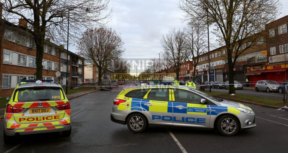 southall street in lockdown following fatal shooting