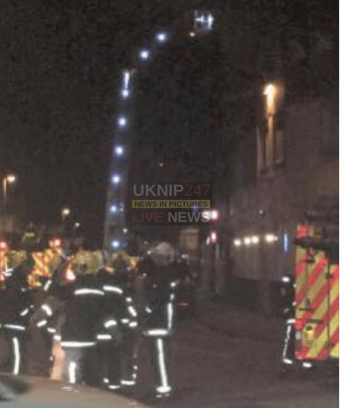 Ten Fire Crews Called To Deal With Fire At Brunel House In Portsmouth