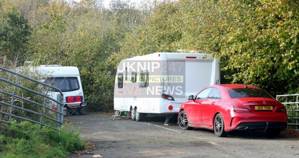 travellers take over surrey nature reserve