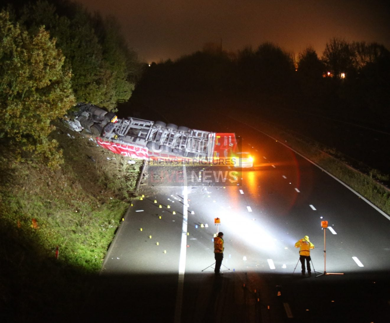 Woman Dies In Fatal Horror  M20 Lorry Collision In Kent