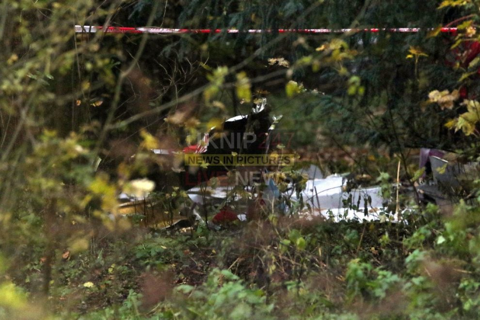 work continues to recover aircraft following mid air crash in buckighamshire