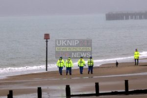 major search sparked on christmas eve after woman seen entering the water off the isle of wight in sandown