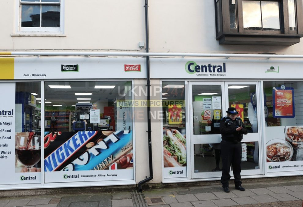 Armed Police Arrest Man Following Robbery At Newport Convenience Store