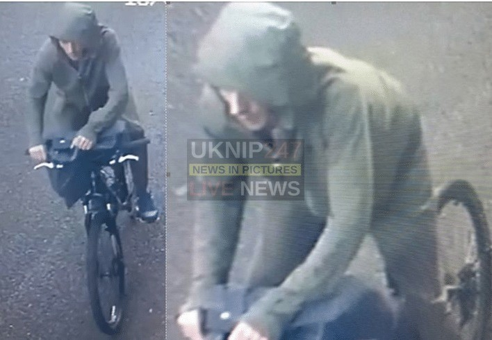 officers investigating a burglary in newport on the isle of wight are releasing cctv images of a man we would like to identify as part of our enquiries