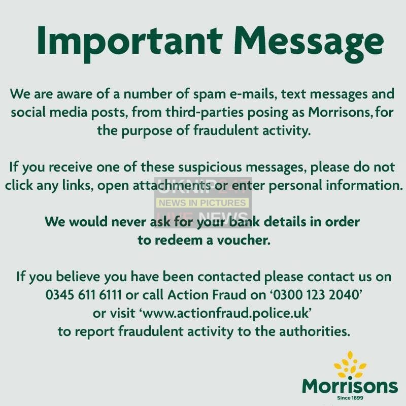 If Your A Morrisons Customer You Need To Read This