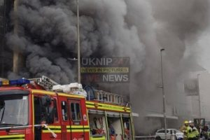 major fire rips through southampton bookshop