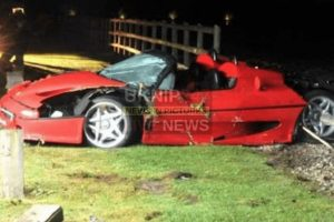 man jailed following ferrari collision that killed a teenage boy