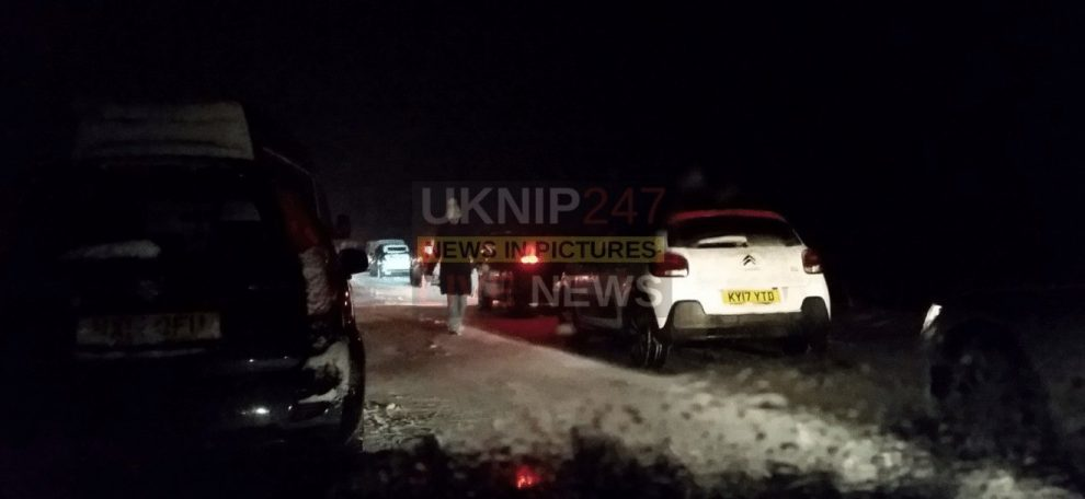 military called in by police after drivers stuck on a31 in the new forest