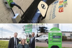 portsmouth council install charge point after 100k grant
