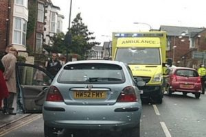 emergency services called to a collision in ryde