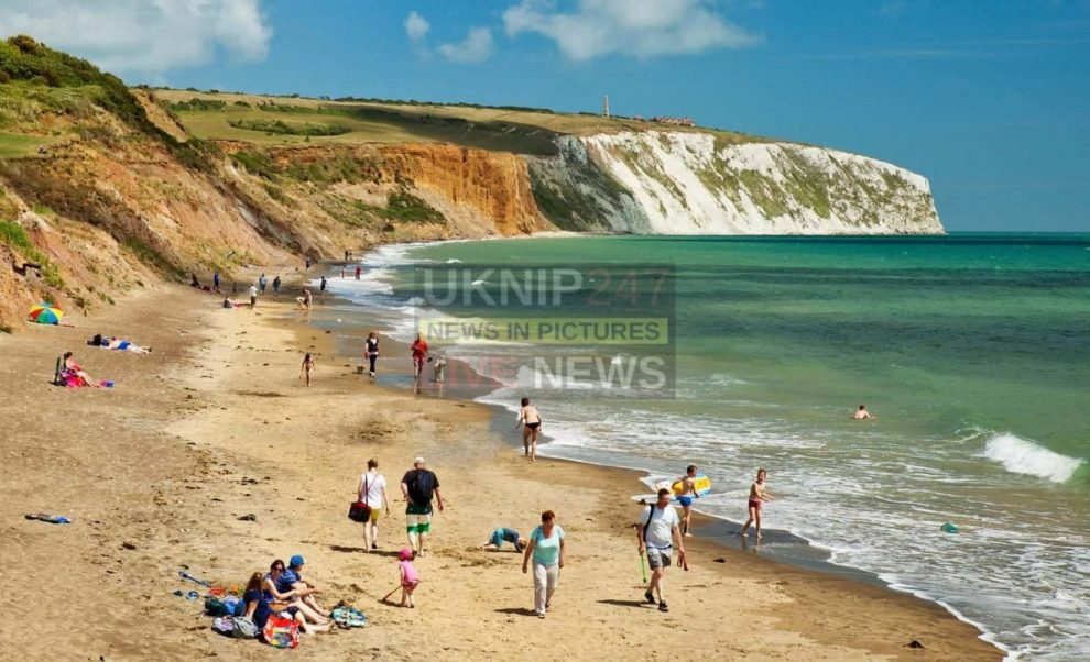Emergency Services Respond To Concerns For Welfare On Culver Down Cliffs On The Isle Of Wight