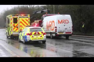 fareham newgate lane road collision