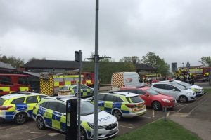 fire crews called to sevenoaks leisure centre following fire in the roof