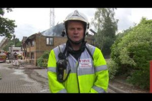 fire rips through business centre in bordon cmr rudman from hfrs explain how crews dealt with it